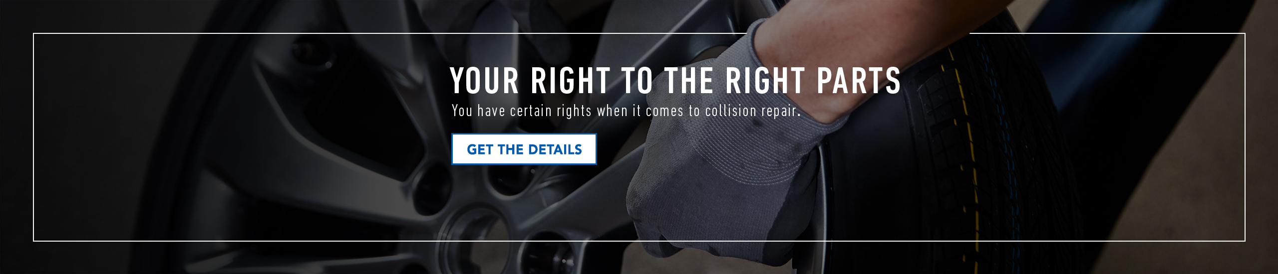 You have certain rights when it comes to collision repair, get the right GM Genuine Parts.