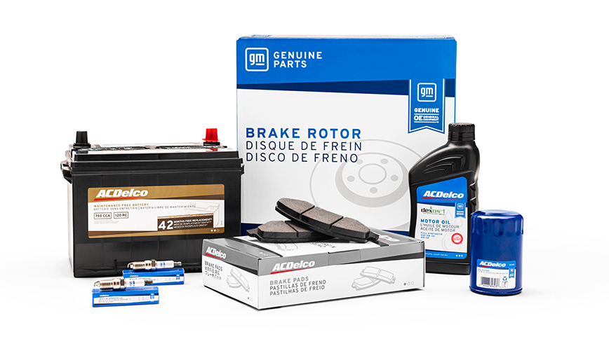 GM Genuine Parts & ACDelco New Parts Packaging